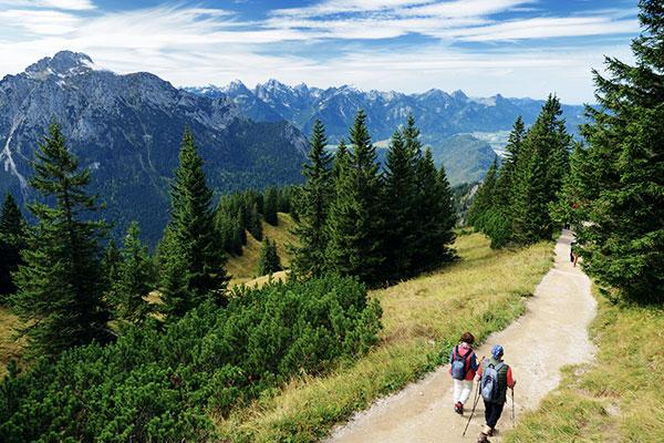 Ammergauer Alpen nahe Füssen
