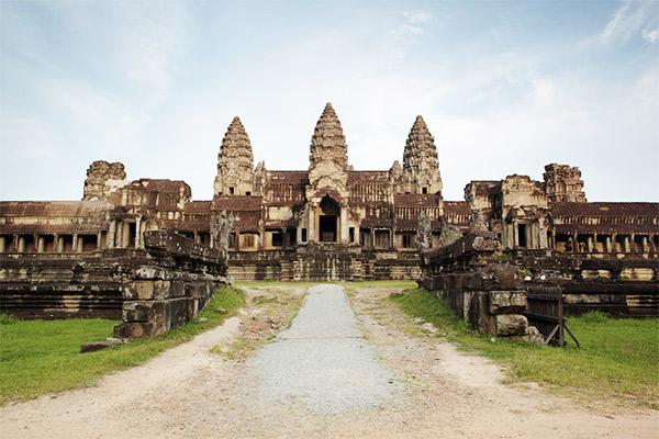 Angkor Wat Eingang, Kambodscha