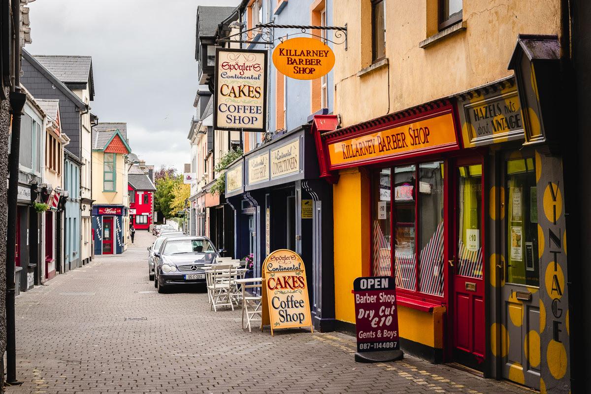 Killarney - die lebendige Kleinstadt im Südwesten Irlands