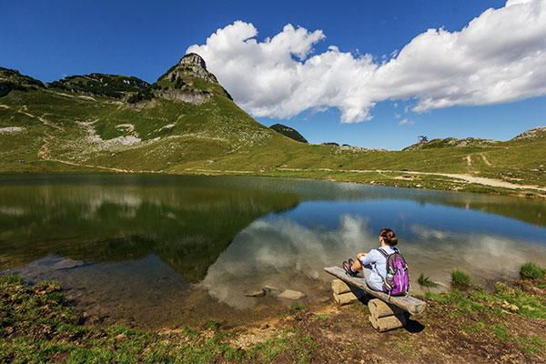 Augstsee bei Altaussee in Österreich