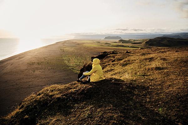 Ausblick Küste, Island