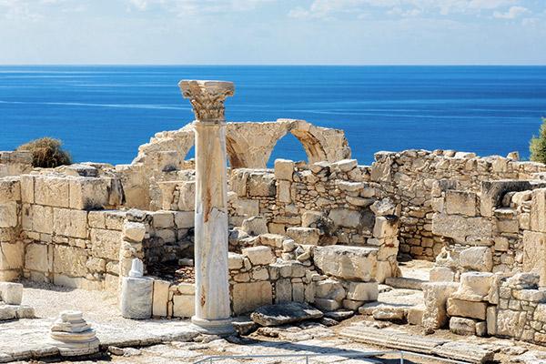 Ausgrabungen in Kourion, Zypern