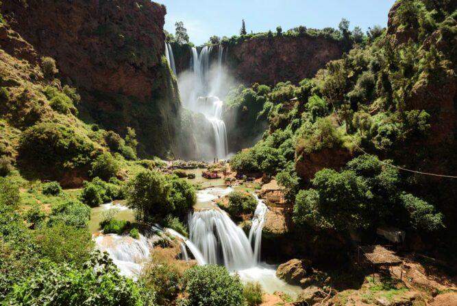 Ouzoud Wasserfall, Marokko