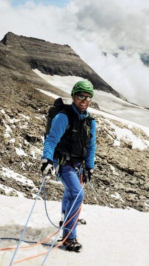 Breites Grinsen des Bergführers, Hohe Tauern