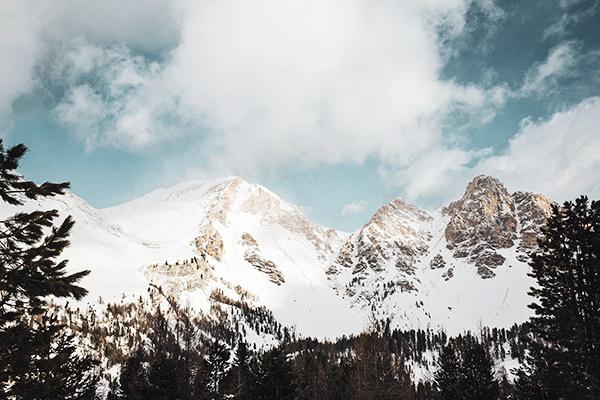 Bergkette Fanesalm, Dolomiten