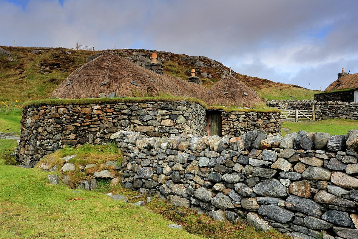 Blackhouses von Na Gearrannan