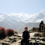 Schneebedeckte Annapurna Kette, Nepal