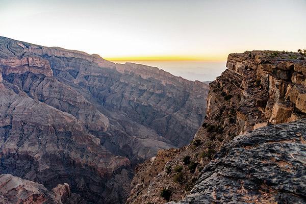 Jebel Shams Plateau, Oman