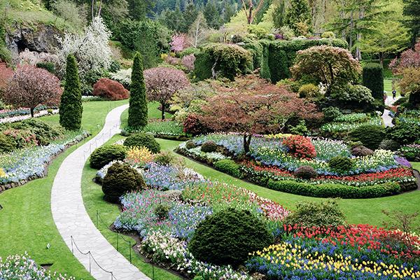 Blumengarten Victoria, British Columbia