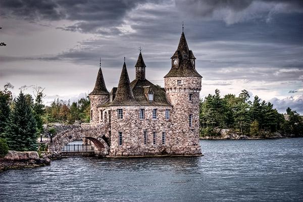 Boldt Castle auf Heart Island, Kanada