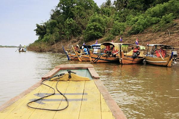 Bootstour Kratie, Kambodscha