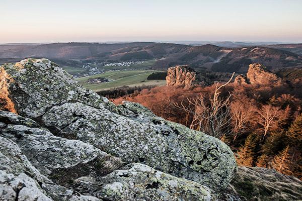 Bruchhauser Steine im Sauerland, Deutschland