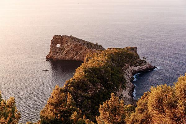 Bucht bei Son Marroig, Mallorca
