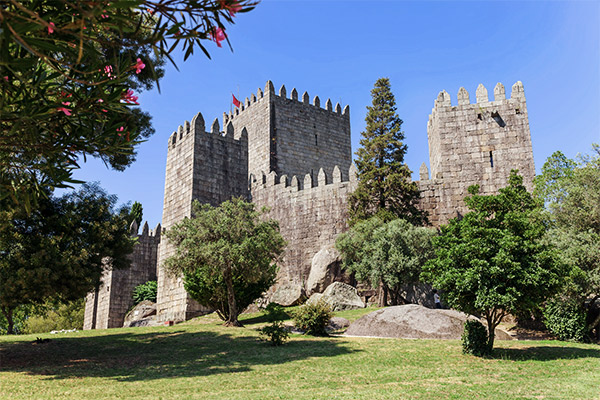 Burg Guimaraes, Portugal