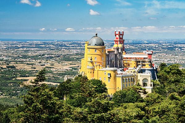 Palast Sintra, Portugal