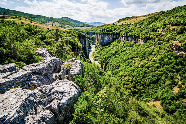 Canyon Corovoda, Albanien
