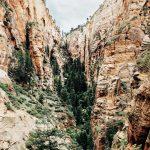 Eine Schlucht im Zion-Nationalpark. © Carl Nenzen Loven