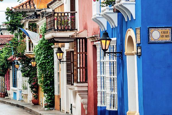 Cartagena de Indas, Südamerika