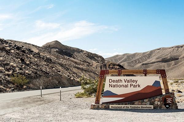 Heimat der Timbisha Shoshonen, Death Valley USA
