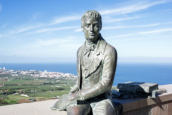 Statue Alexander von Humboldt, Teneriffa
