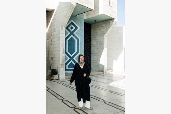 Koenig Abdallah Moschee Amman, Jordanien