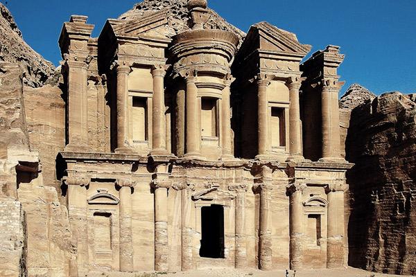 Kloster Ed Deir, Jordanien