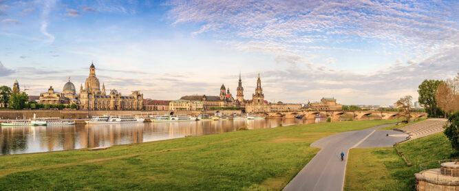 Ausblick auf Dresden