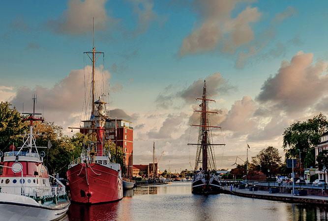 Hafen von Emden