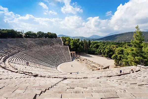 Theater Epidauros, Peloponnes