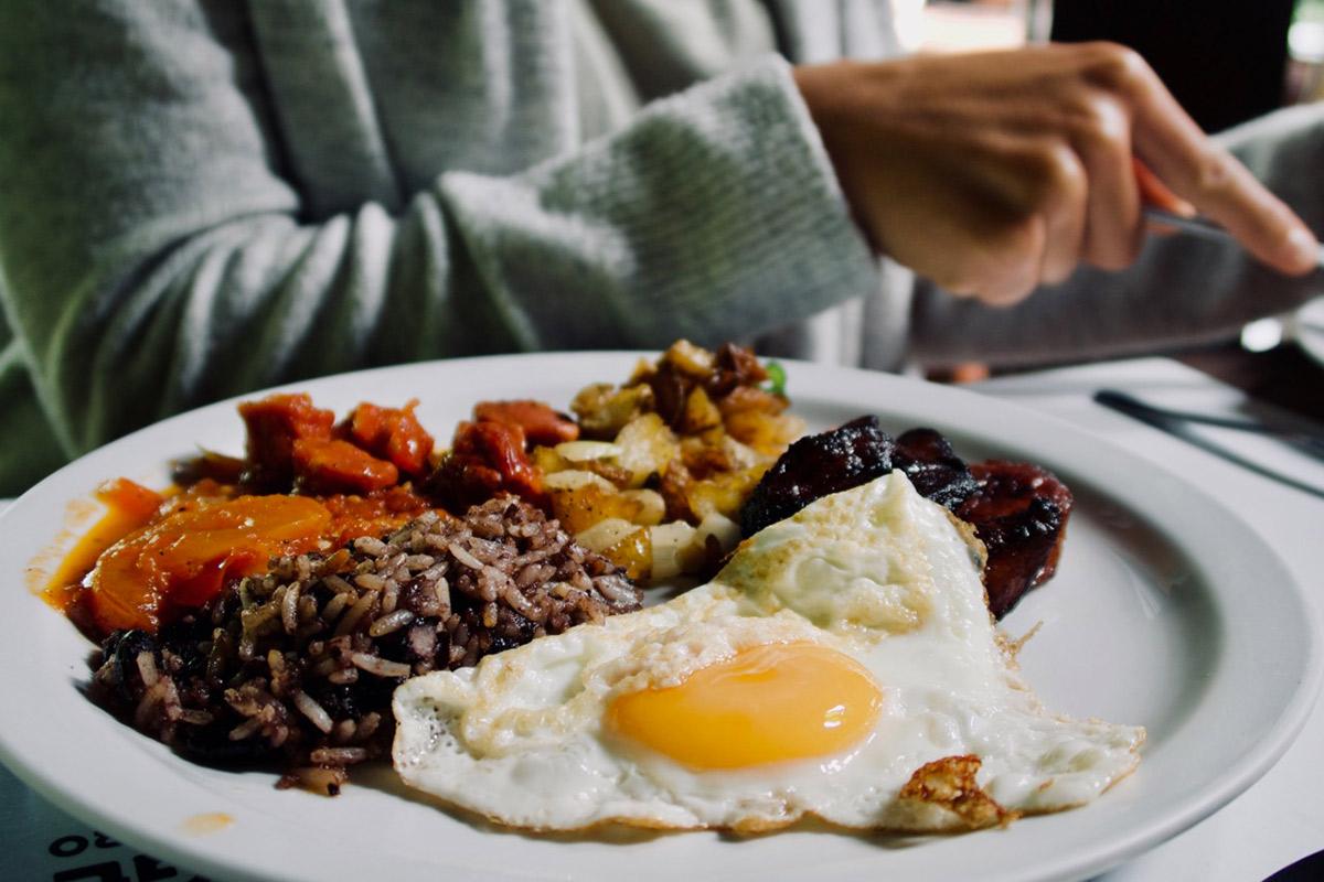 Traditionelles Frühstück