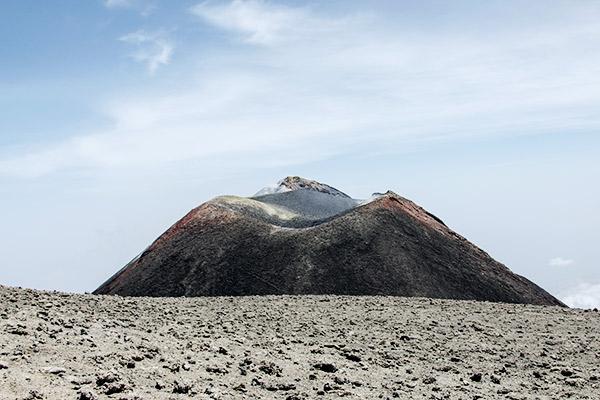 Gipfel von Ätna, Sizilien