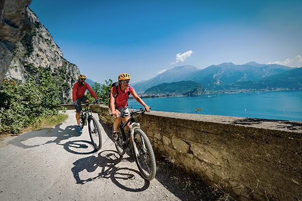 Radfahren am Gardasee