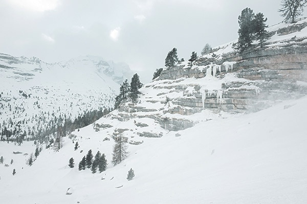 Wanderung Lavarellahütte, Dolomiten