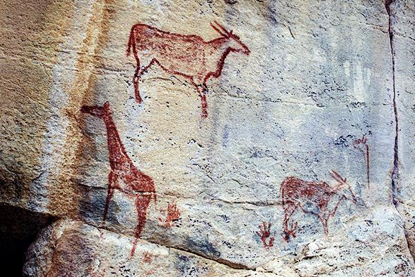 Felsmalereien Tsodilo Hills, Botswana