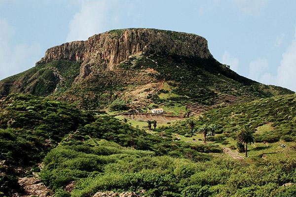 Fortaleza bei Chipude auf La Gomera
