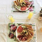 Toast mit Ei und Gemüse, Kruger Bush Camp