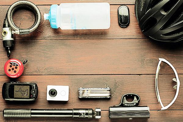 Dinge für Radreise, Packliste