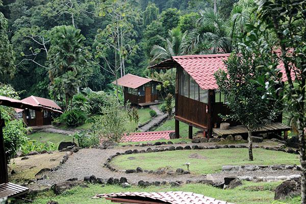 Dschungel-Lodges in Costa Rica