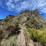 Wanderpfad gepflastert, Madeira