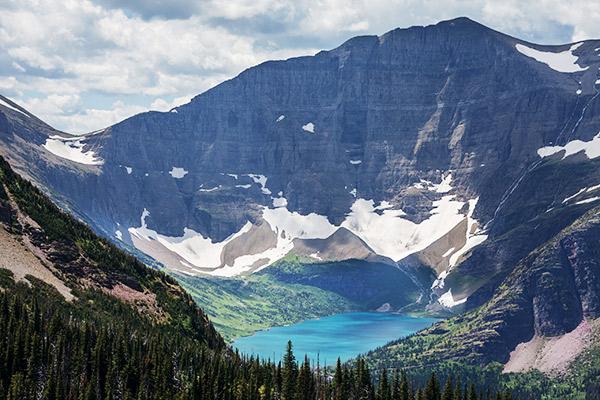 Gletschersee im Glacier Nationalpark, Kanada
