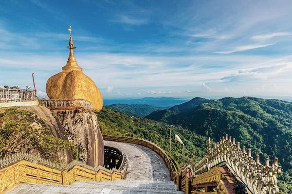 Goldener Fels, Myanmar