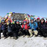 Gruppenfoto Thorong-La-Pass, Nepal