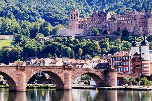 Die Stadt Heidelberg