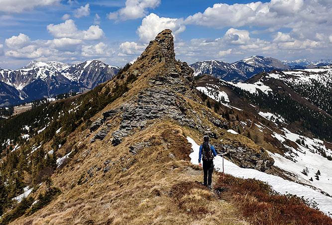 Himmeleck Gipfel in Österreich