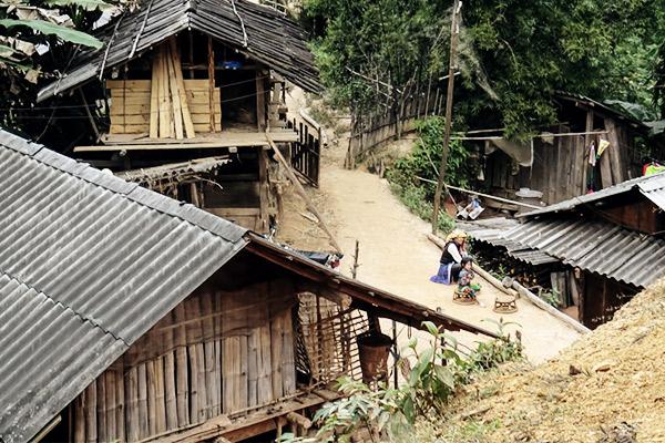 Siedlung Hmong, Vietnam