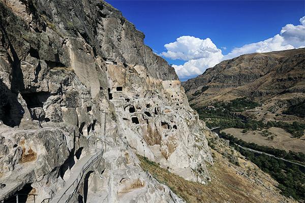 Höhlenstadt Wardsia, Georgien