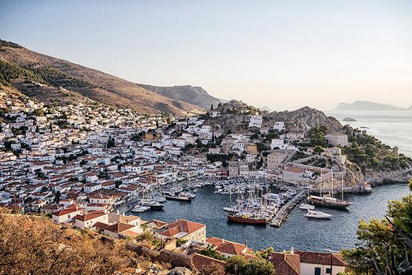 Autofreie Insel Hydra, Peloponnes