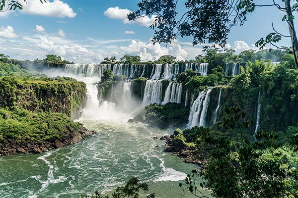 Iguacu Wasserfälle, Brasilien