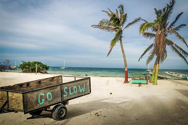 Insel Caye Caulker, Belize