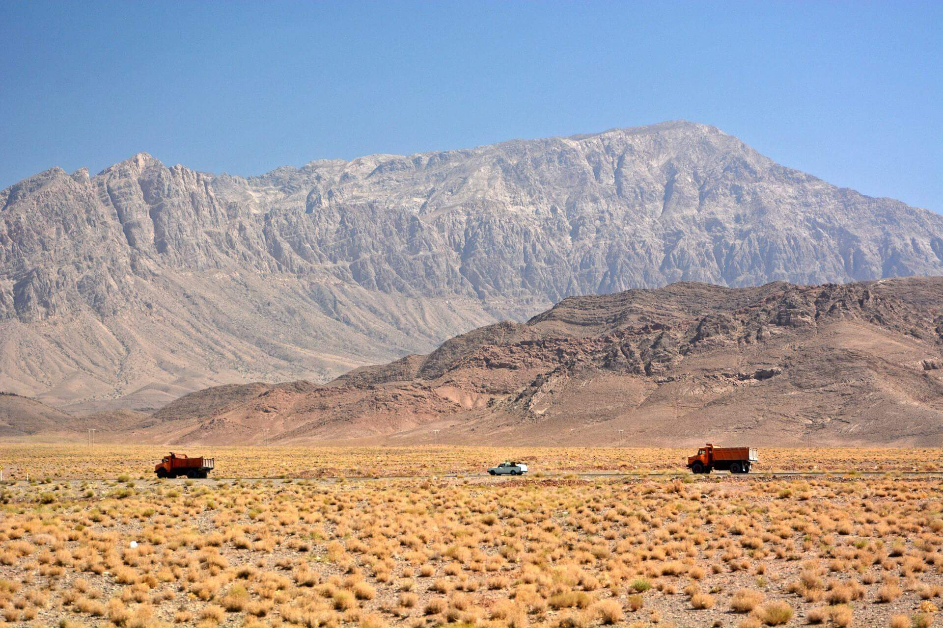 Zagros Gebirge